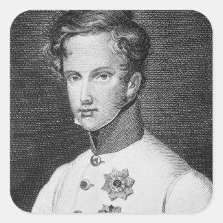 Napoleon II, Francois Charles Joseph Square Sticker