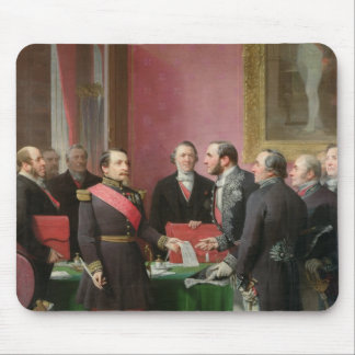 Napoleon III  Hands Over The Decree Mouse Pad