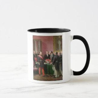 Napoleon III  Hands Over The Decree Mug