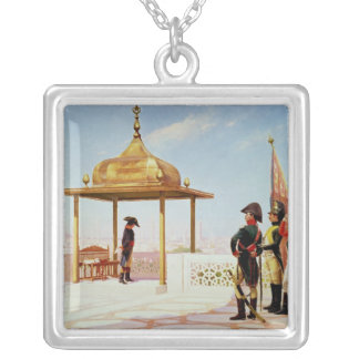 Napoleon in Cairo, 1798 Silver Plated Necklace