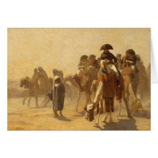 Napoleon In Egypt Card