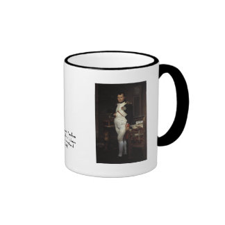 Napoleon in his Study by Jacques Louis David Ringer Mug