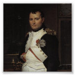 Napoleon in his Study by Jacques Louis David Posters