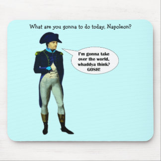 Napoleon is Dynamite! Mouse Mats