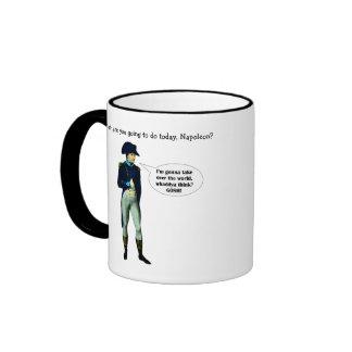 Napoleon is Dynamite! Ringer Mug
