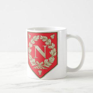Napoleon Laurel with Bees Basic White Mug