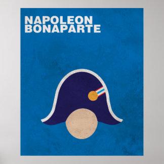 Napoleon:Minimalist Historical Figures Poster