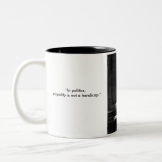 Napoleon Two-Tone Coffee Mug