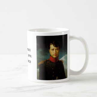 Napoleon, Napoleon, A true manhates no one.- Na... Basic White Mug