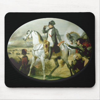 Napoleon on a horse mouse pads