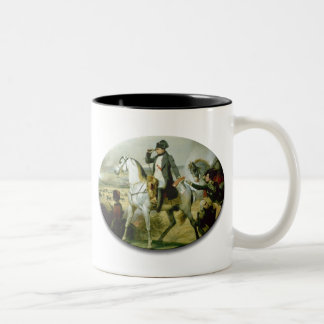 Napoleon on a horse mug