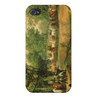 Napoleon on a hunt in the Compiegne Forest, 1811 Case For The iPhone 4