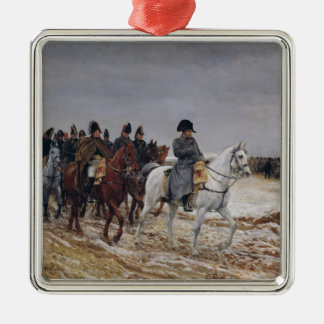 Napoleon  on Campaign in 1814, 1864 Christmas Ornament
