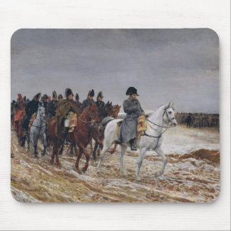 Napoleon  on Campaign in 1814, 1864 Mouse Pad