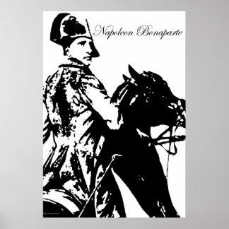 Napoleon On Horseback Poster