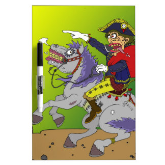 Napoleon on Rampage Extended Dry-Erase Whiteboards