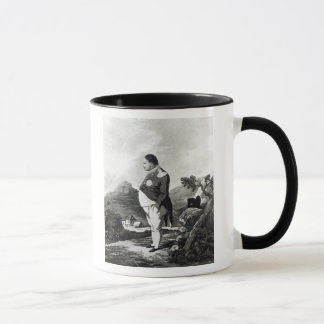 Napoleon on the island of St. Helena, 1820 Mug
