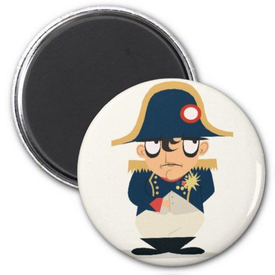 Napoleon on Your Fridge 6 Cm Round Magnet