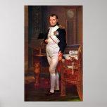 Napoleon Posing In His Study Print