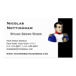 Napoleon Poster Style Drawing Pack Of Standard Business Cards