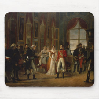 Napoleon receiving the senators mousepad