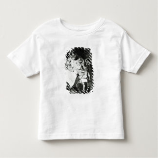 Napoleon studying his maps by lamplight, c.1800 toddler T-Shirt