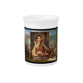 "Napoleon ""Stupidity Politics"" Quote Decorative Pit Drink Pitchers"