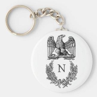 Napoleon Symbol Key Chain