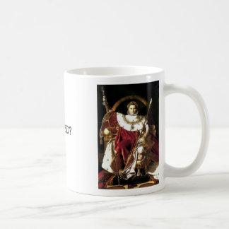 Napoleon the Emperor, Napoleon the Emperor, WWNBD? Basic White Mug