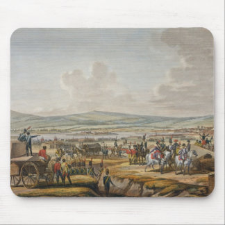 Napoleon Visiting the Siege Works at Danzig led by Mouse Pad