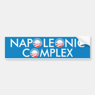 Napoleonic Complex Car Bumper Sticker