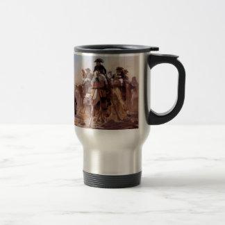 Napoleonic unit stainless steel travel mug