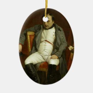Napoleon's Bad Day Ceramic Oval Decoration