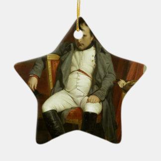 Napoleon's Bad Day Ceramic Star Decoration
