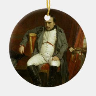 Napoleon's Bad Day Round Ceramic Decoration