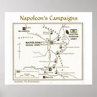 Napoleon's Campaigns, Austerlitz, Preliminaries Poster