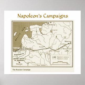 Napoleon's Campaigns, Russian Campaign Poster