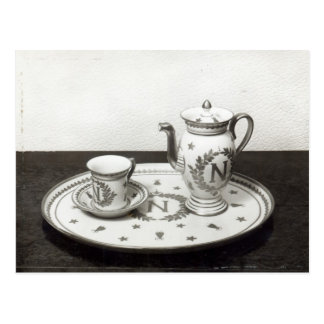 Napoleon's Coffee Set Postcard