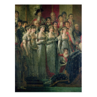 Napoleon's Consecration and Josephine's Postcard