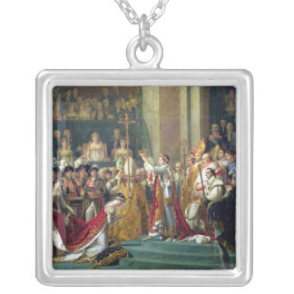Napoleon's Consecration and Josephine's Silver Plated Necklace