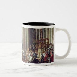 Napoleon's Consecration and Josephine's Two-Tone Coffee Mug