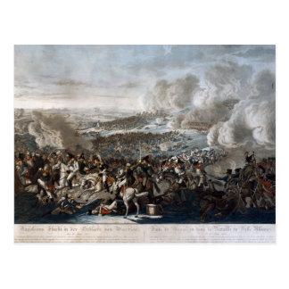 Napoleon's flight from the Battle of Waterloo Postcard