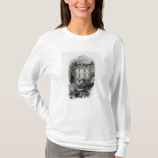 Napoleon's Lodgings on the Quai Conti, 1834-36 T-Shirt