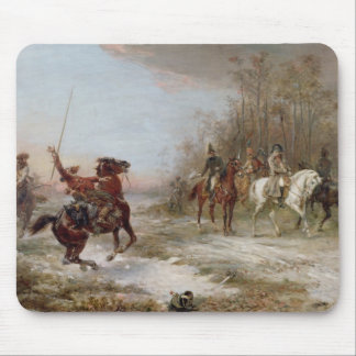 Napoleon's Peril at Brienne-le-Chateau, c.1891 (oi Mouse Pad