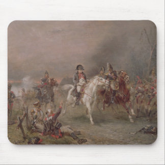 Napoleon's Retreat (oil on canvas) Mouse Mat
