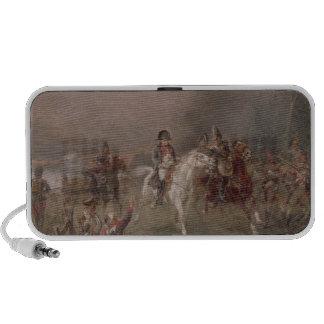 Napoleon's Retreat (oil on canvas) Portable Speakers
