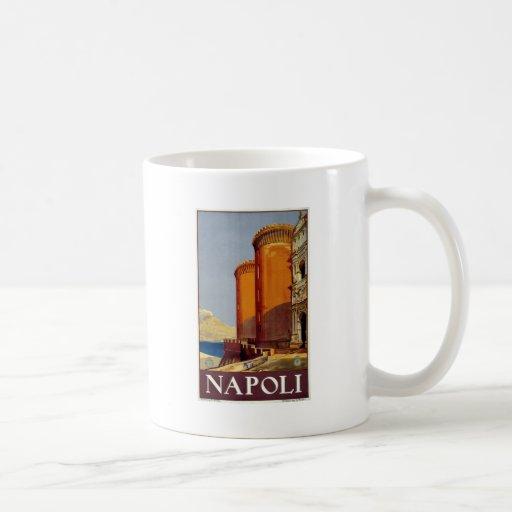 Napoli Classic White Coffee Mug