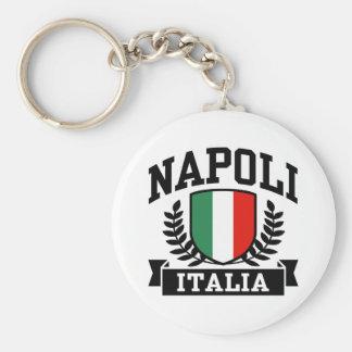 Napoli Italia Basic Round Button Key Ring
