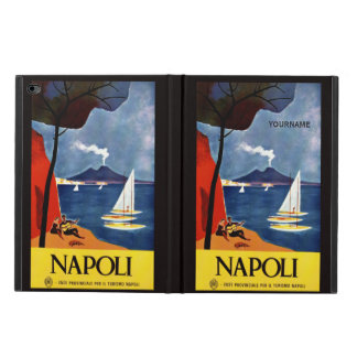 Napoli Italy vintage travel custom device cases