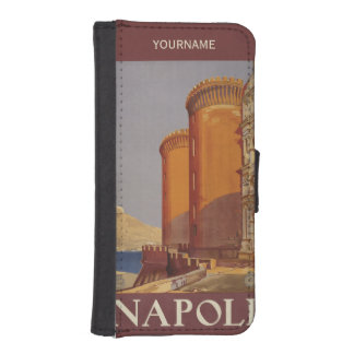 Napoli Italy vintage travel custom phone wallets